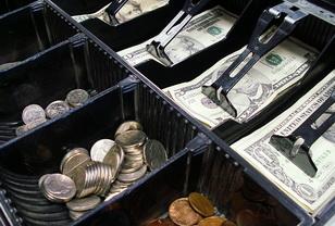 Как правильно складывать денежные купюры в кассе.